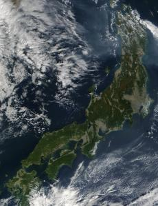 Satellite Image - Japan